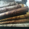 Multiple colors Available REACH High Quality Snake Skin PU Shoe leather