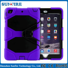 Shockproof And Waterproof Kid Proof Rugged Tablet Case For 7 Inch Tablet