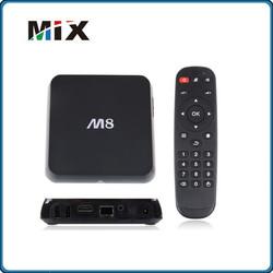 M8 TV Box Amlogic Quad Core Set top Box Android 4.4 XBMC MX TV Box