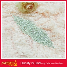 Elegant Belt Applique Design Handmade Bead Applique rose transfer vinyl