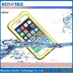 Factory Wholesale for iphone 6 waterproof case, waterproof phone case