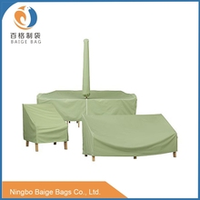 waterproof and uv proof nylon outdoor furniture cover