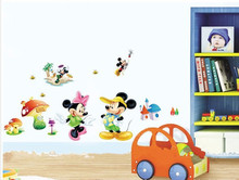 mickey mouse wall stickers for decoration
