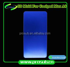 3D sublimation smartphone couverture en aluminium injection moule pour Prosub-Coolpad Max A8