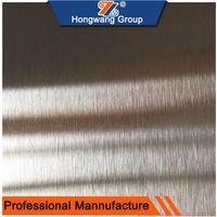 Foshan Factory Direct Hairline Finish Stainless Steel Sheet