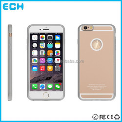 TI chip wireless charging case PC ABS protective charging case for iphone 6 plus
