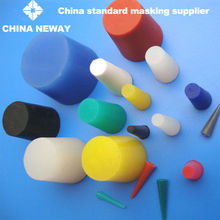 factory supply STP-0121-1000 silicone rubber plug