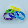 Hot sale 2014 new design personalized printed silicone bracelet