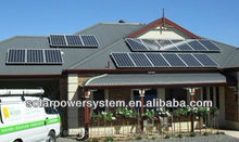Complete with battery and brackets 6000w hybrid wind solar system