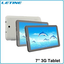 7 inch 3G WCDMA android tablet pc with keyboard and dual sim card