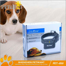 Dog collar promotional square dog training clicker