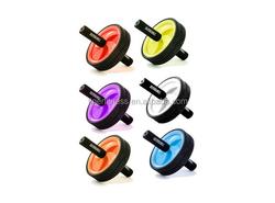 colorful gym ab wheel roller