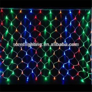 1*2m 176 freien eingerichtet mehrfarbige led leuchtet net