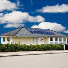 Hanergy photovoltaic 3 kw solar energy system for home