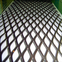 high quality expanded metal wire mesh fence/standard expanded metal/aised expanded metal