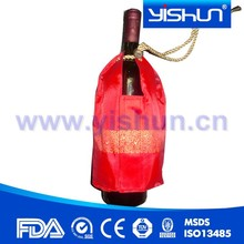 Customized wine bottle cover for promotion