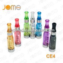 High quality ce4 atomizers,1.6ml ce4 e cig review,7 colors e go ce4 for ego battery from Jomo