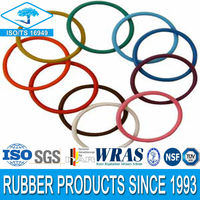 Clear silicone rubber o ring with high quality