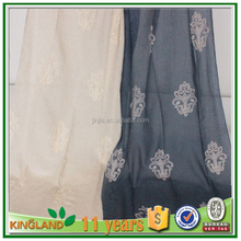 2015 Hot sale embroidery european style window curtains modern luxury curtains kinds of curtains