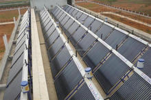 High efficiency and high quality heat pipe solar water collector