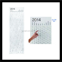 fashion cheap bubble calendar/bubble calendar manufacturer