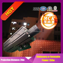 led wall projection light four gobo images indoor and outdoor