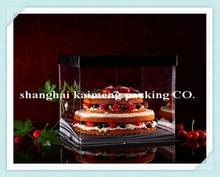 2015 popular customized cardboard birthday cake packaging box design