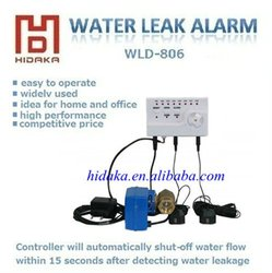 WLD-806 Manufacturer supplier with OEM water alarm for water leak flood damage
