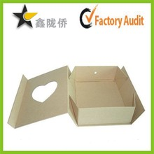 Alibaba customized Rigid paper coated paper heart shape gift boxes,Nested rectangle chocolate packaging China payment