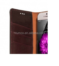 Herman Series Book Style Case,Cowhide Leather Case,face cover for Apple iPhone 6 5.5""