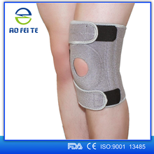 New product Premium OEM Adjustable Neoprene Climbing Stretch Knee Sleeves Protective Support