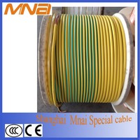 PVC jacket soft copper 6mm 8mm 10 mm flexible cable wire