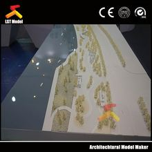 LST China factory made red&green color trees model/architecture model tree
