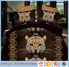3D Tiger Soft and comfortable Bedding Set in 100% cotton