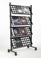 wrought iron book rack