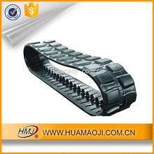 We can supply cheap high quality 400x72.5x74 rubber track for excavator