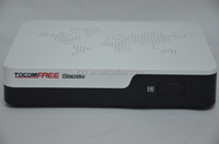 2014 Newest satellite decoder TOCOMFREE S928S black with inside dongle crypto iks free for South America