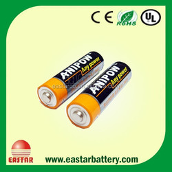 AA Size Alkaline Battery with High Battery life