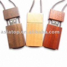 Promotional Wooden USB Flash Drive With Line
