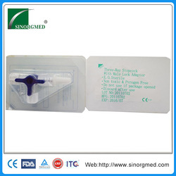 2015 New Production Medical Disposable Plastic stopcocks 3 way 3 ports