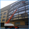 Safe and reliable self-propelled mobile hydraulic lift
