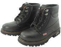 Fashion Cow Hide Steel Toe Men Safety Shoe