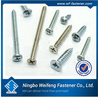 China screw manufacturers self tapping self drilling good quality m8 screw dimensions