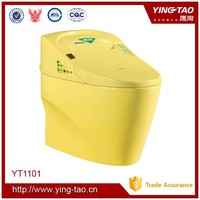 china electronic items automatic self-clean toilet seat color toilet for the elderly