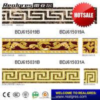 Foshan living room marble flooring border tiles