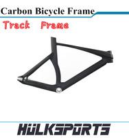 full carbon track bike frame 3K/UD carbon frame for track bicycle T700 track frame