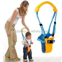 new Belt Moon Baby Walker - Learn To Walk Assistant/Helper - Orange and Blue