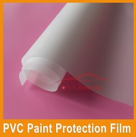Top Warranty 1.52*15m car paint protection film self adhesive pvc transparent film