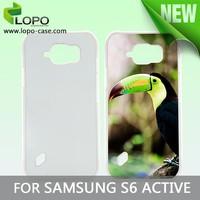 China mobile phone case custom Aluminium printable phone case for Samsung Galaxy S6 Active