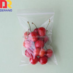 reclosable ldpe ziplock plastic bags for food